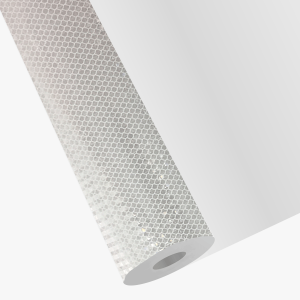 Adesivo Refletivo Vinil Refletivo Branco Brilho    Impressão UV (Ultravioleta) 0,7 micra