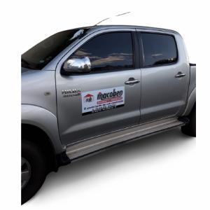 Ímã para Carro Placa imantada 0,8mm    Corte Reto Recomendado para Carro